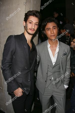 Pierre Niney and Chen Kun