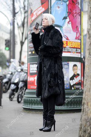 Kate Lanphear, Paris Men's Fashion Week, FW15