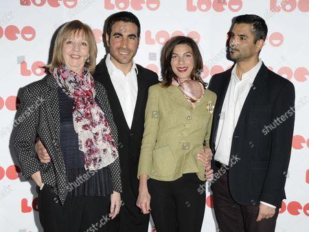 Ruth Sheen, Brett Goldstein, Natalia Tena and Christian Contreras
