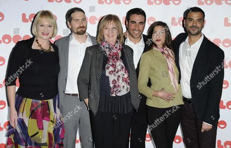Hattie Hayridge, Ruth Sheen, Brett Goldstein and Natalia Tena