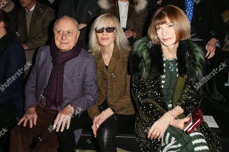 Pierre Berge, Betty Catroux, Anna Wintour