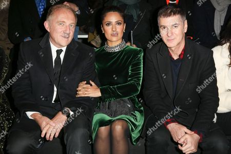 Francois-Henri Pinault, Salma Hayek, Etienne Daho