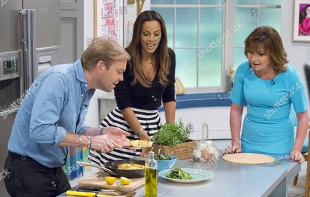Bill Granger, Rochelle Humes and Lorraine Kelly