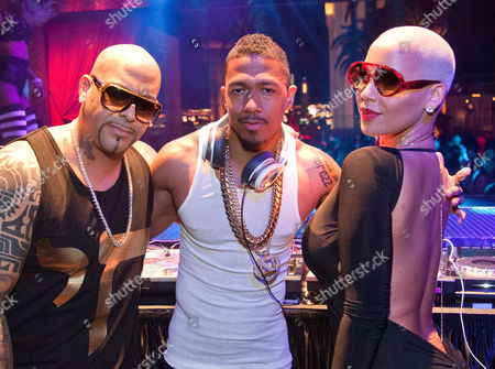 Mally Mall, Nick Cannon and Amber Rose