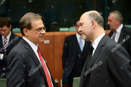 Gikas Hardouvelis, Pierre Moscovici