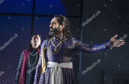 Chook Sibtain as Itbar, Zubin Varla as Dara,