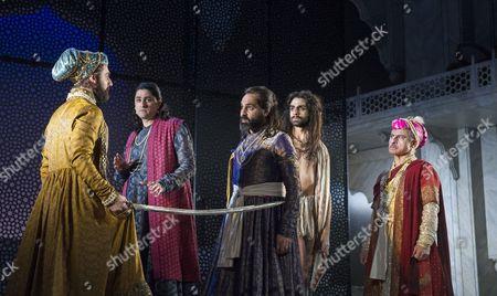 Satgon Yelda as Aurangzeb, Chook Sibtain as Itbar, Zubin Varla as Dara, Scott Karim as Faqir, Vincent Ebrahim as Emperor Shah Jahan