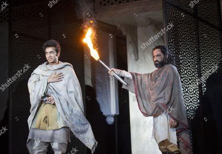 Ronak Patani as Sipihr, Zubin Varla as Dara,
