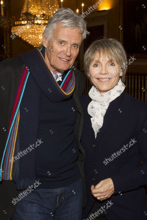 Simon Williams and Lucy Fleming