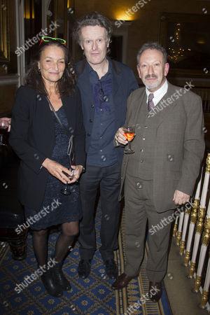 Patricia Litten, Mark Hayhurst and Allan Corduner (Franz Litten)