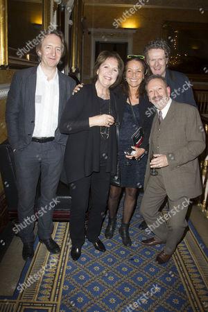 Jonathan Church, Penelope Wilton, Patricia Litten, Mark Hayhurst and Allan Corduner
