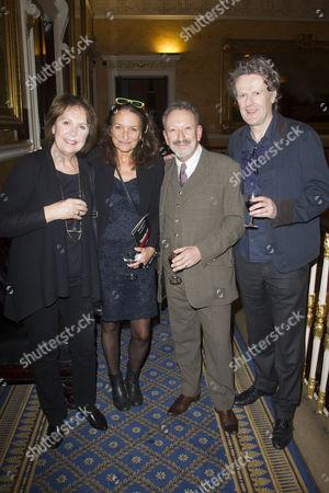 Penelope Wilton (Irmgard), Patricia Litten, Allan Corduner (Franz Litten) and Mark Hayhurst