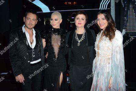 Yassen Samouilov, Diese, Livia Stoianova and Gyselle Soares