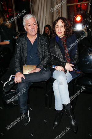 Style.com's Tim Blanks and Nicole Phelps