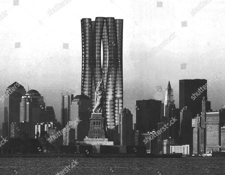 BUNDLE TOWER, DESIGN FOR THE WORLD TRADE CENTRE, NEW YORK, AMERICA