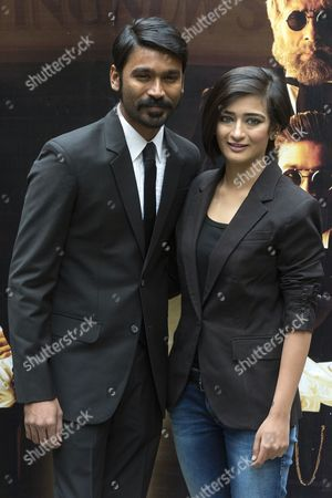 Dhanush and Akshara Haasan