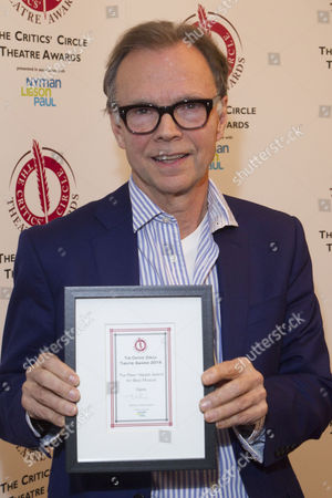 Jonathan Kent accepts the The Peter Hepple Award for Best Musical for 'Gypsy'