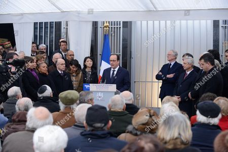 French Prime Minister, Manuel Valls, Mayor of Paris Anne Hidlago, French Justice minister Christine Taubira, French Interior minister, Bernard Cazeneuve, French Education Minister Najat Vallaud-Belkacem, French Minister for Culture and Communication, Fleur Pellerin, French President Francois Hollande