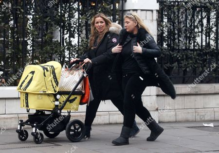 Claire Sweeney and friend