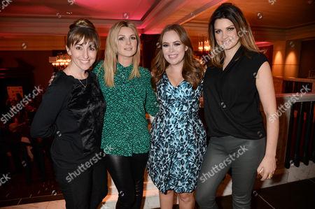 Guest, Nic Haste, Tanya Burr and Samantha Chapman