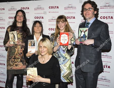 Heln Macdonald, Ali Smith, Kate Saunders, Emma Healey and Jonathan Edwards