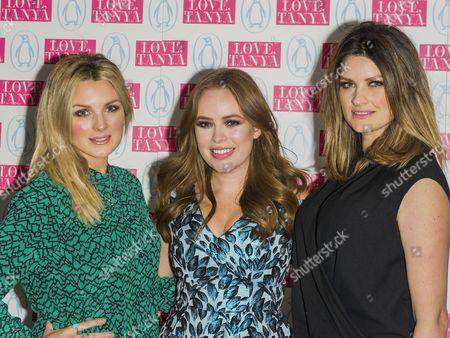 Nic Haste, Tanya Burr and Samantha Chapman