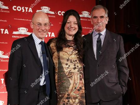 Chris Rogers the managing director of Costa, Helen Macdonald, Robert Harris