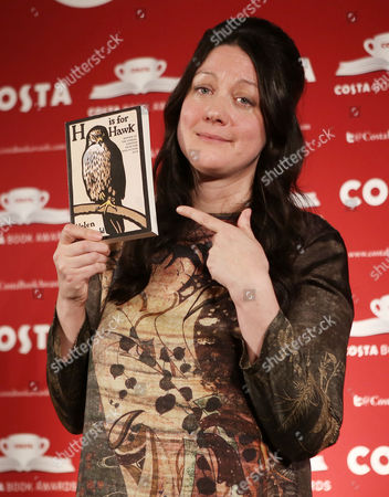Helen Macdonald, winner of Book of the Year