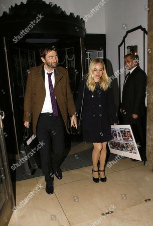 Stock Picture of David Tennant and Georgia Moffett