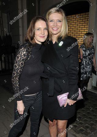 Susie Dent and Rachel Riley