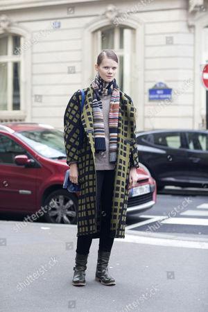 Stock Picture of Irina Kravchenko; model; after Bouchra Jarra;