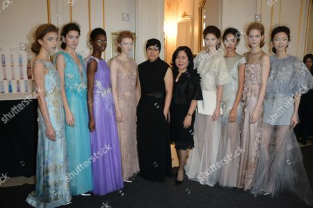 Editorial photo of Busardi show, Spring Summer 2015, Haute Couture, Paris Fashion Week, France - 27 Jan 2015