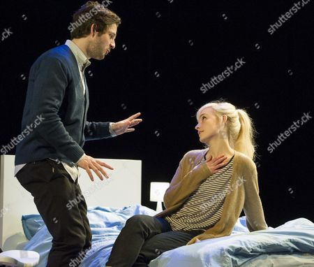 Stock Picture of Damien Molony as Spike, Olivia Vinall as Hilary