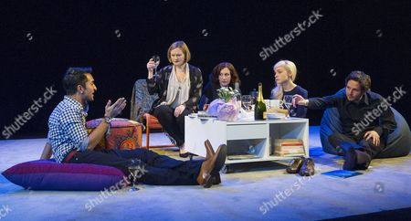 Editorial picture of 'The Hard Problem' Play by Tom Stoppard performed in the Dorfman Theatre at the Royal National Theatre, London, Britain - 27 Jan 2015