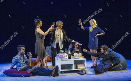 Editorial image of 'The Hard Problem' Play by Tom Stoppard performed in the Dorfman Theatre at the Royal National Theatre, London, Britain - 27 Jan 2015
