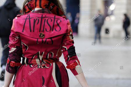 Nasiba Adilova Paris Street Style Fashion. FW15. PFW.