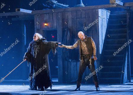 David Sterne as Blind Pew, Aidan Kelly as Bill Bones