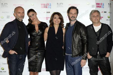 Massimo Cappelli, Belen Rodriguez, Tosca D'Aquino, Fabio Troiano, Dino Abbrescia
