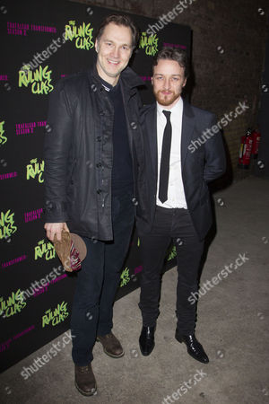 David Morrissey and James McAvoy (Jack)