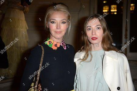 Tamara Beckwith and Anouska Beckwith