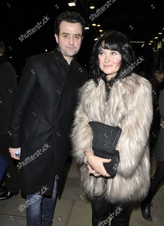 Daniel Mays and Louise Burton