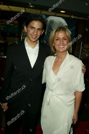 Jonathan Ahdout and mother