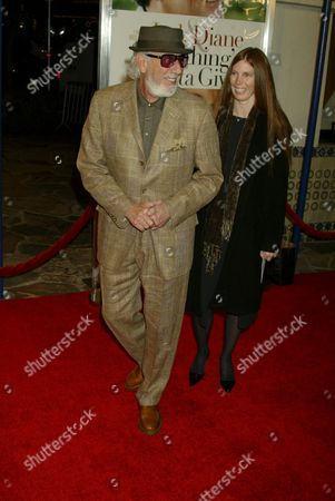 Lou Adler and Page Hannah