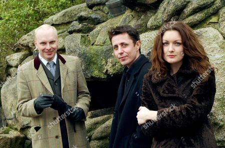 Stock Picture of Black Box Recorder members John Moore (centre) Luke Haines and Sarah Nixey - 06 Feb