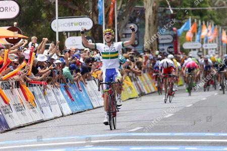 Santos Tour Down Under, Campbelltown, Australia - Jack Bobridge of Australia took the first win of the tour