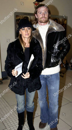 Emmanuel Petit and wife Agathe de la Fontaine