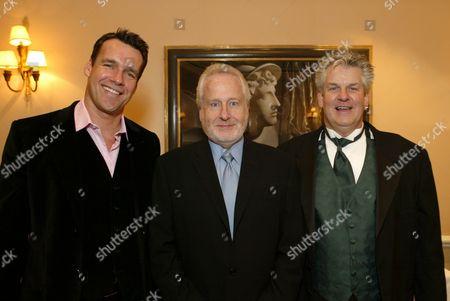 David James Elliott, Garry Hart and Lenny Clarke
