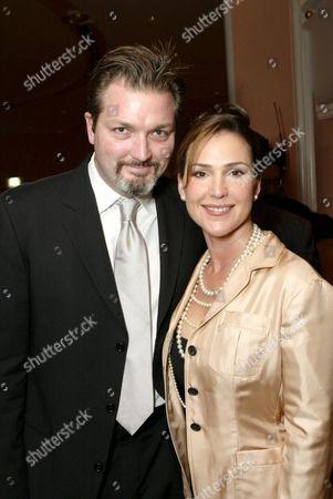 Christian Vincent and Peri Gilpin