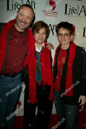 Martin Spanjers and parents