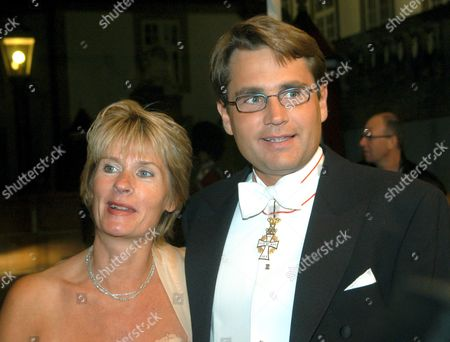 Brian Mikkelsen and wife